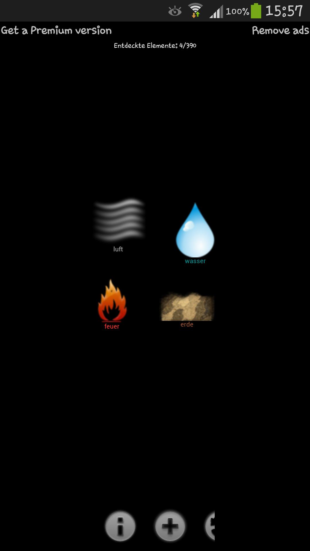 Alchemie Kombinationen