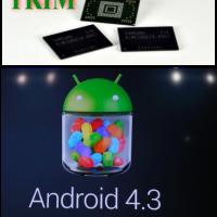 TRIM Befehl in Android 4.3 optimiert Flashspeicher auch auf älteren Androiden.