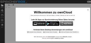 SpeicherBOX_Login