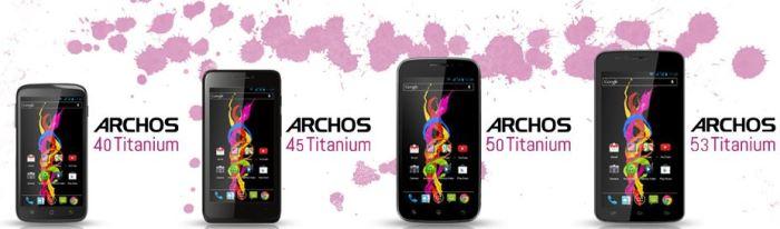 Archos_Titanium_Reihe