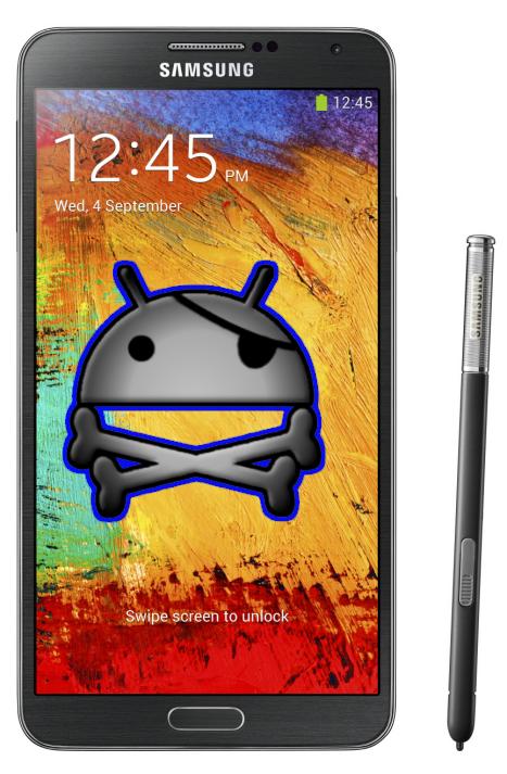 Tutorial root zugriff beim samsung galaxy note 3 sm - Samsung galaxy note 3 logo ...