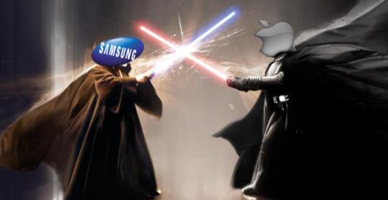 Apple_gegen_Samsung_Logo