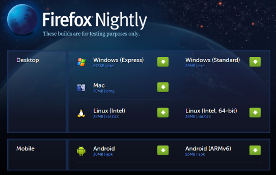 Firefox_Australis_Nigthlies
