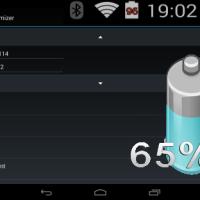 Battery Overlay Percent - kleine App mit prozentualer Wirkung
