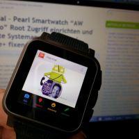 """Tutorial - Pearl Smartwatch """"AW 414.Go"""" Root Zugriff einrichten und defekte Systemapps Hangouts / Google+ fixen"""
