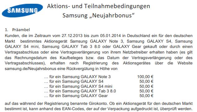 Samsung_Neujahrsbonus_Ean_Code