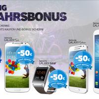Samsung Neujahrsbonus - WICHTIG nur deutsche Geräte (EAN-Code) zugelassen!