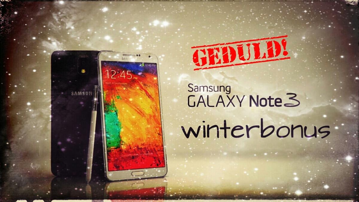 Samsung Winterbonus Aktion - Auszahlung der 100 Euro Cashback erfordert weiterhin Geduld!