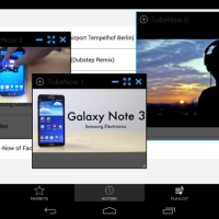 Tube Now bringt parallele Youtube Videos als floating Windows auf den Homescreen eures Androiden