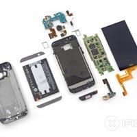 HTC ONE M8 IFixit Teardown - Reparatur Index Flop mit nur 2 von 10 Punkten!