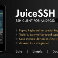 """Preisdeal - SSH-Client """"JuiceSSH bis zum 18. März mit kostenlosem Upgrade auf Pro Version"""
