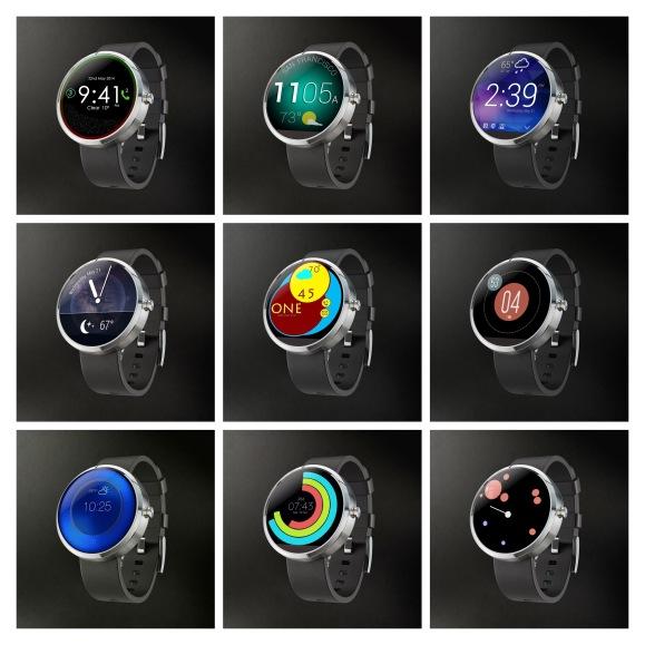 Motorola Watchfaces - 22-MIX