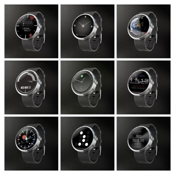 Motorola Watchfaces - 25-MIX