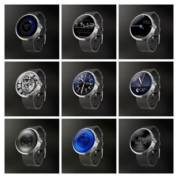 Motorola Watchfaces - 27-MIX