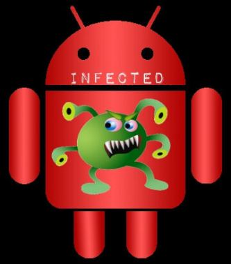 Android_red_Infected