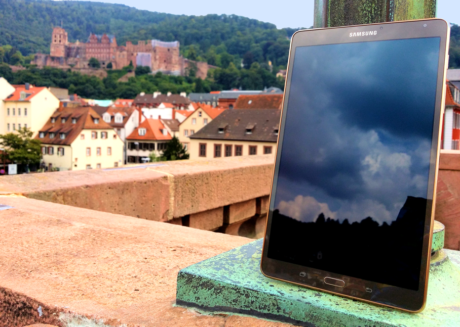 "Review ""Samsung Galaxy Tab S 8,4"" – Geballte Power & Eleganz umrahmt ..."