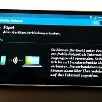 Tutorial: Mobile Hotspot auf dem Smartphone einrichten und per Tethering mit anderen Geräten nutzen