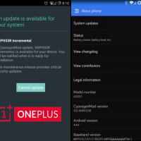 Tutorial: OnePlus ONE Hotfix Update XNPH33R wird ausgerollt, Installation per Sideload!