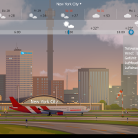 "AppReview ""YoWindow Wetter"" - Realtime Wetteranimation auf dem Androiden"