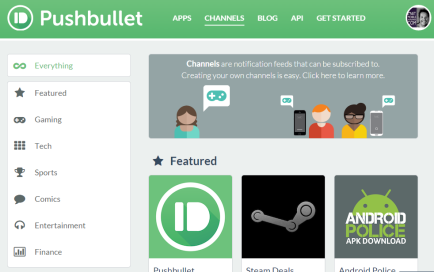 Pushbullet_Channels