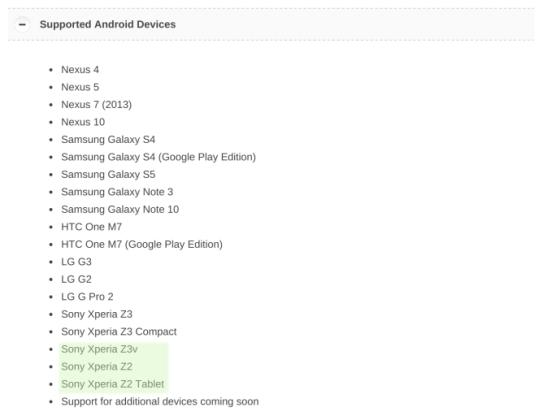 Chromecast_Screen_Cast_Sony_Xperia_Z3v_Z2_Z2_Tablet