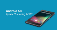 Sony_Xperia_Z3_AOSP_lollipop_5.0